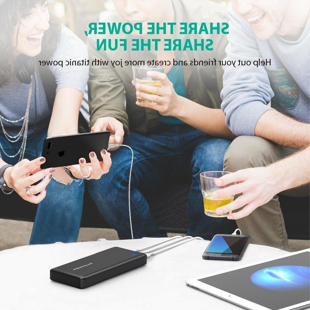 Portable Battery Packs Total 5.5A Output