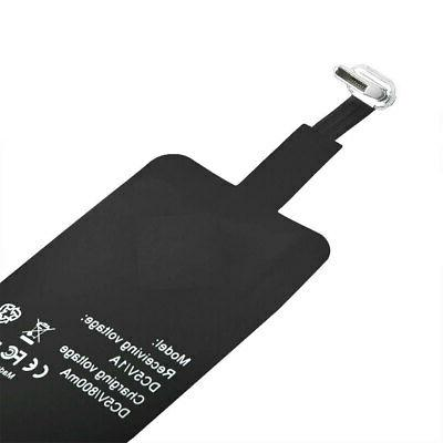 Portable Qi Pad Type-C Receiver For