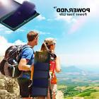 Poweradd 24W Foldable Solar Panel Battery Charger For phones
