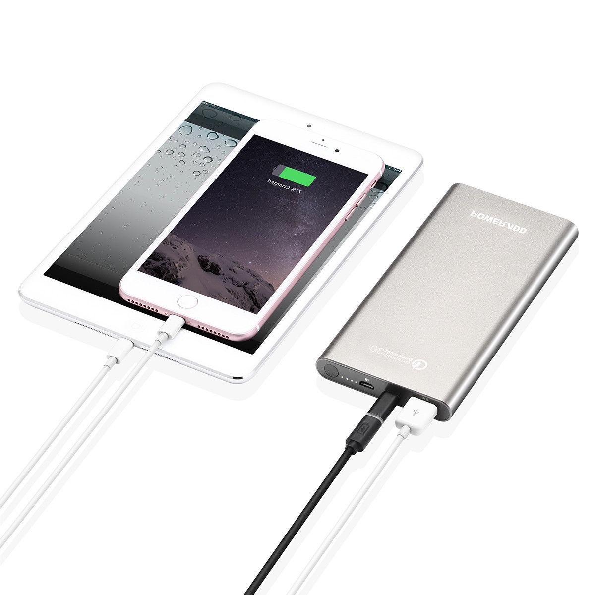 Poweradd QC Charge 3.0 Power 10000mAh Battery Portable Charger