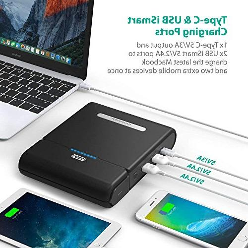 RAVPower Charger 27000mAh 100W Built Plug Travel Charger