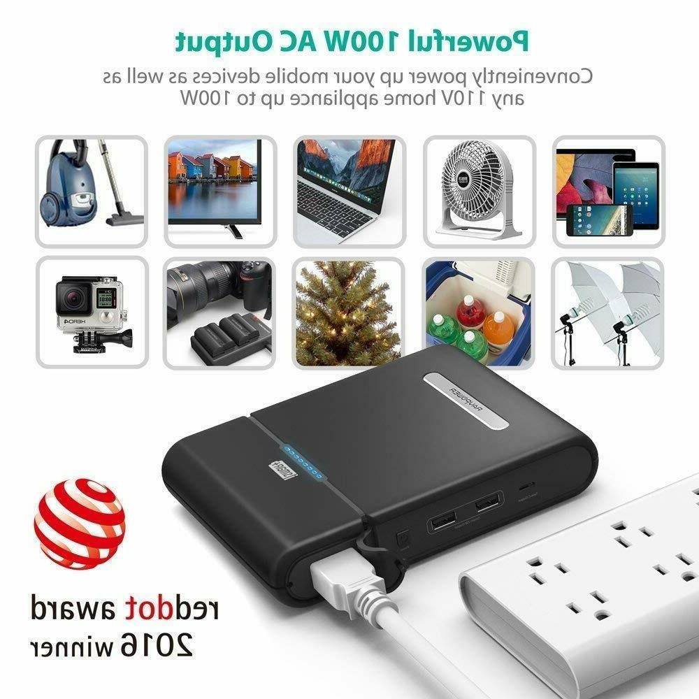 AC Outlet Portable Charger RAVPower Power 85W