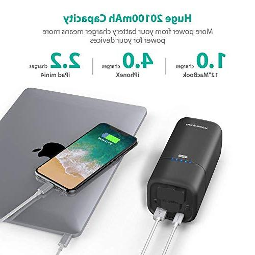 Portable Charger 20100mAh with AC Plug External Pack Charger Surface Dell XPS 13, iPhone S9, 8