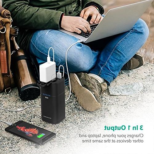 Portable 20100mAh 65W AC Pack Travel Charger Surface Pro, 13, S9, Note - Updated