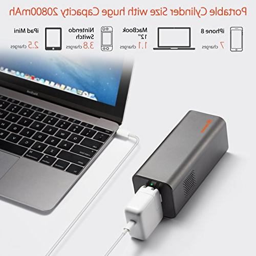 AC Portable Laptop Charger 77Wh/20800mAh Travel Power Bank Battery for Notebooks, MacBook and Laptops