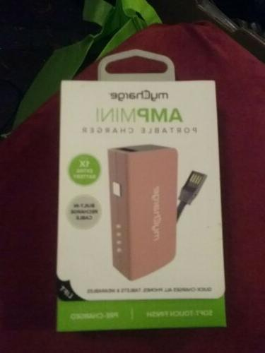 amp mini portable charger built in usb