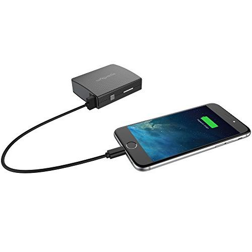 myCharge AmpMax Charger 6000mAh / 2.4A Dual USB External Battery Pack Power USB