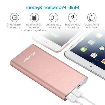Apple Lightning Portable Charger, Poweradd 4GS Dual 3A