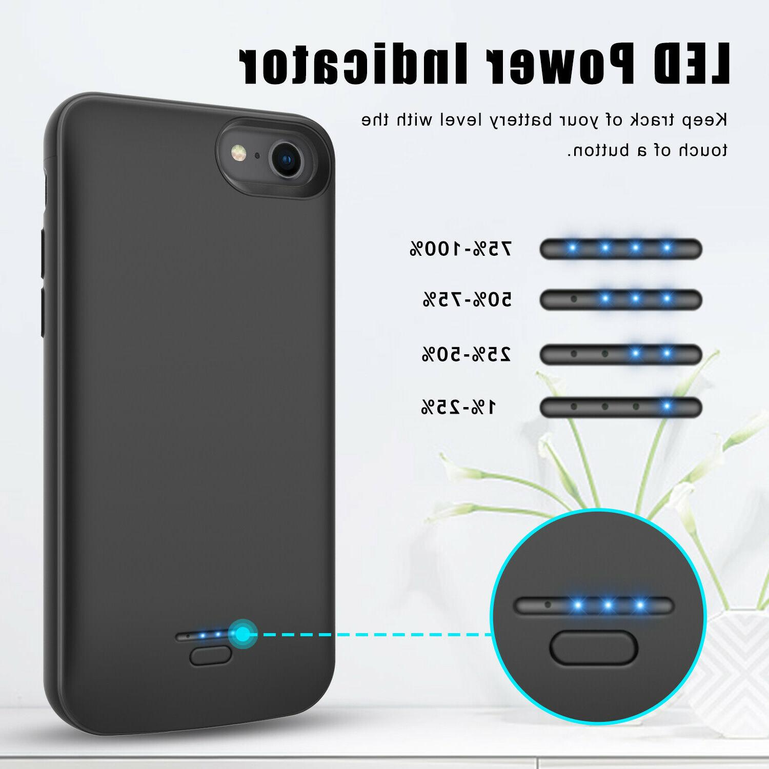 Battery Case SE 2/8/7/6s/6 Portable Rechargeable Charger