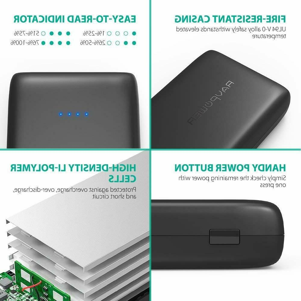 Battery Pack 32000mAh Banks Output, External Portabl