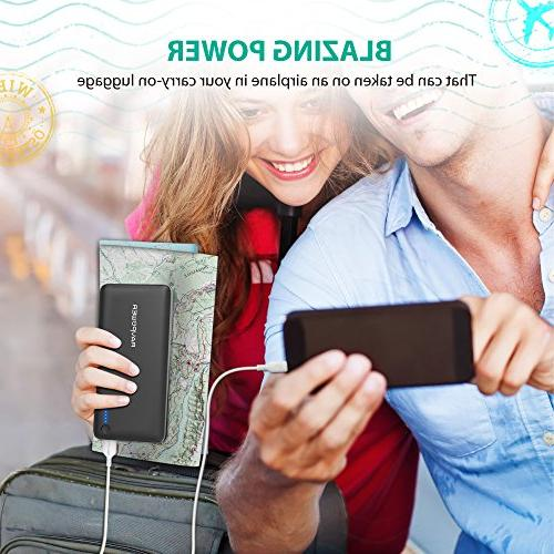 RAVPower 26800mAh Total 5.5A Output Ports Power Bank