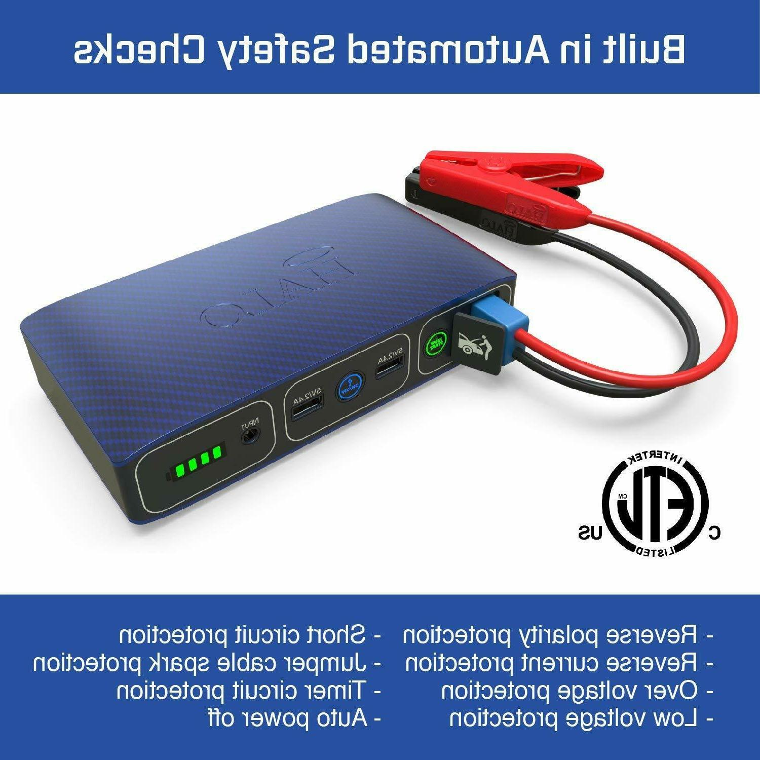 Halo Bolt Portable 57720 MWh External Battery Power Bank