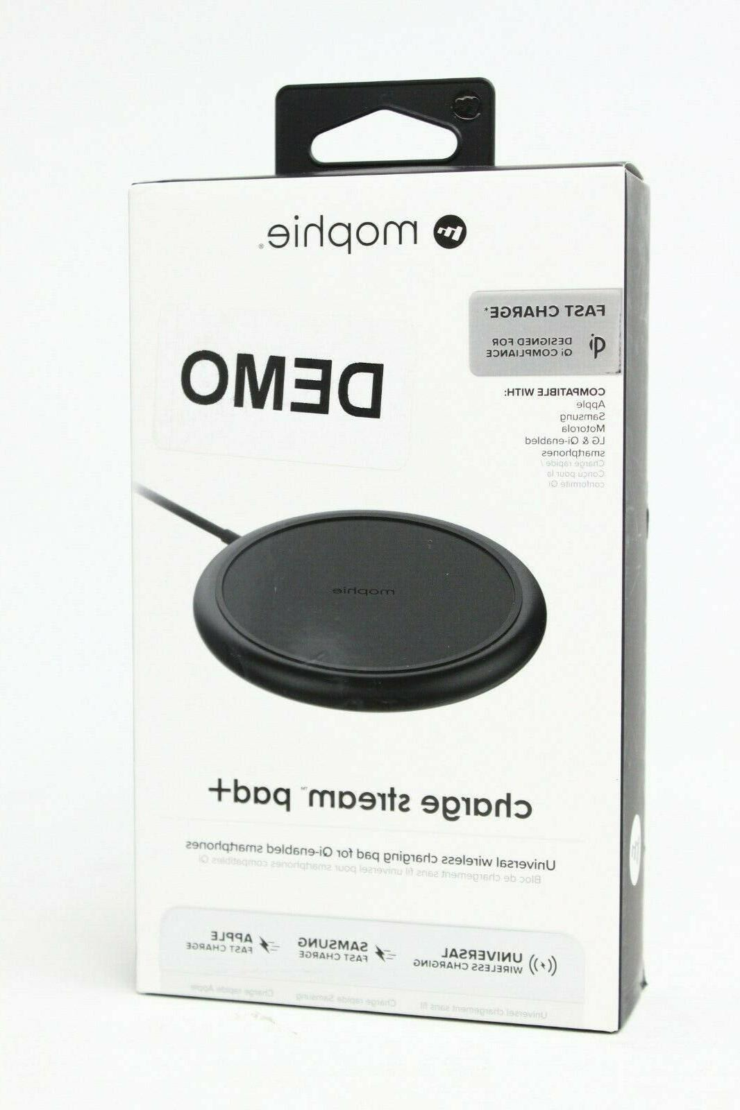 quality design 6e8d4 e7898 mophie Charge Stream Pad+ 10W Wireless Charging Pad