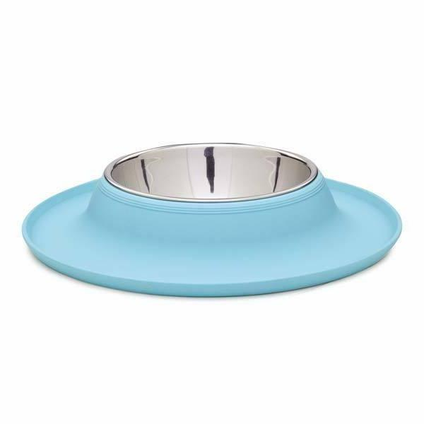 Bowls Solution To Doggy Dining Aqua or