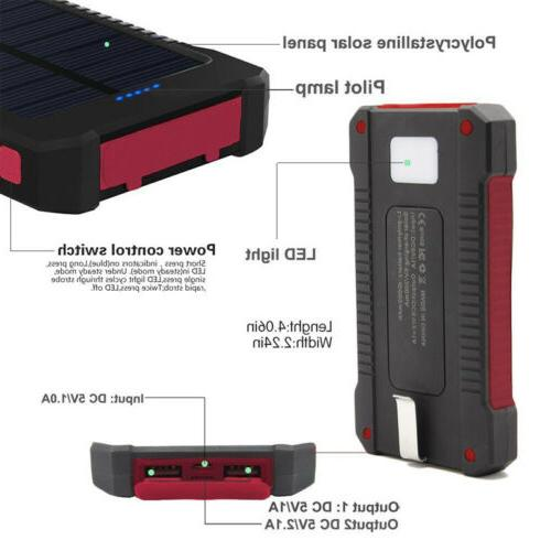 Dual USB Power Battery Portable