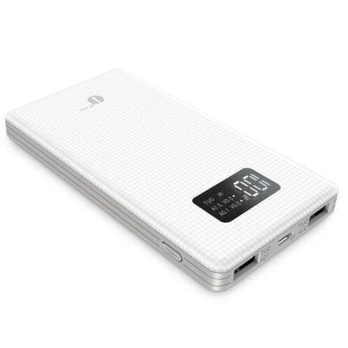 Dual USB External Battery Charger Power Bank for