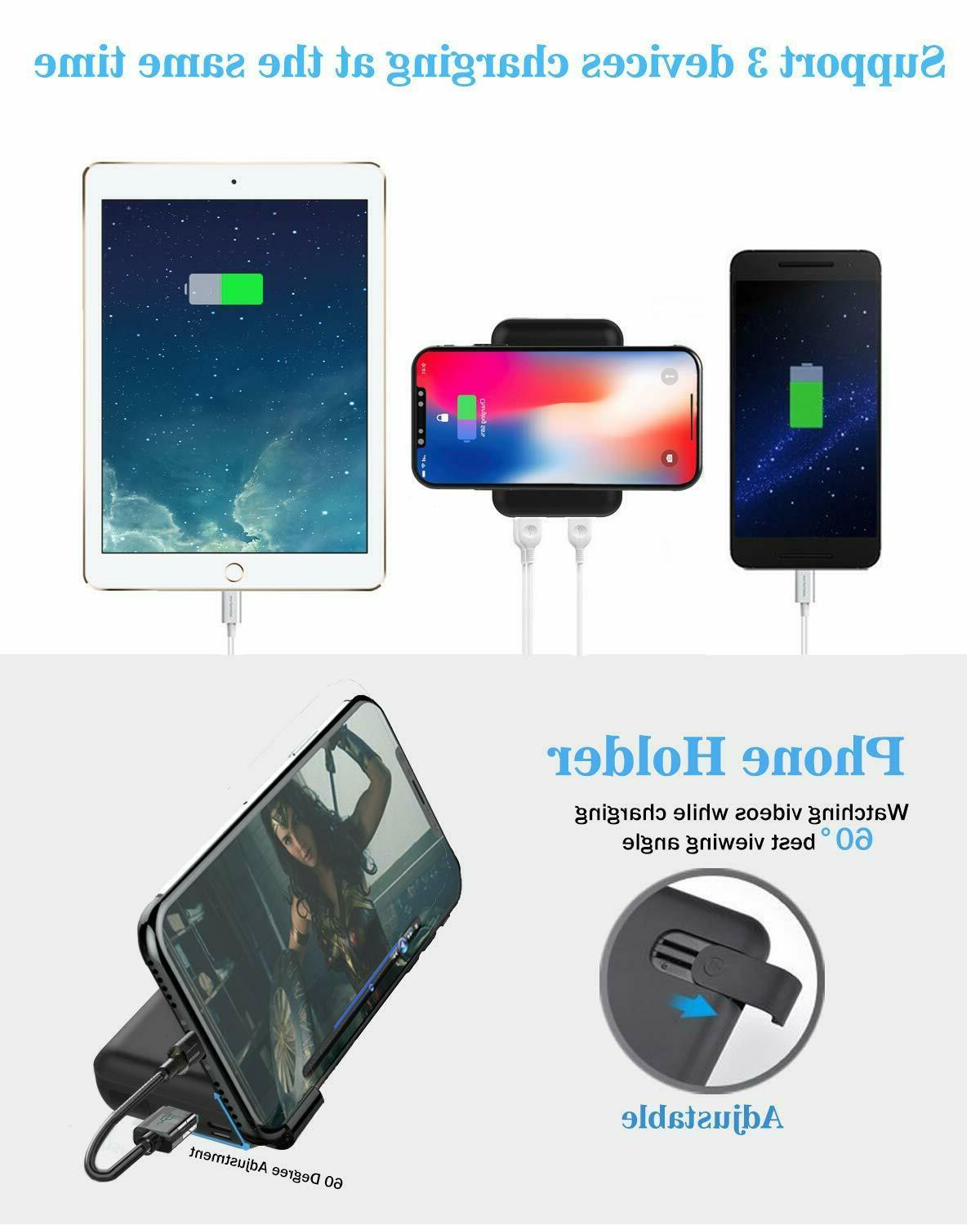 Wireless Hokonui 10000mAh Fast Qi Wireless Power Bank
