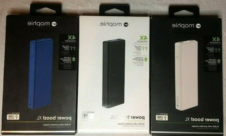 essentials portable battery charger 4 charges power