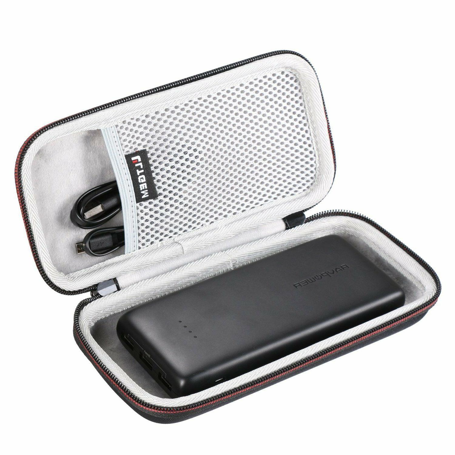 LTGEM EVA Hard Case for Power Banks RAVPower 22000 Portable