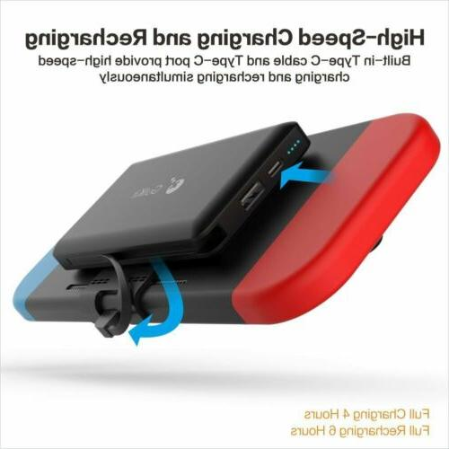 External battery charger and Switch power bank backup