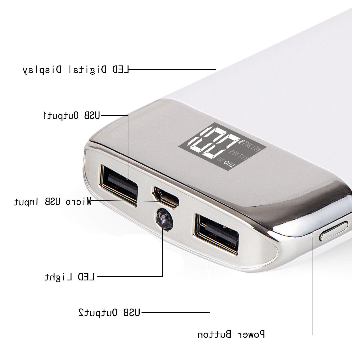 Fashion 100000mAh Portable Power Bank Battery for