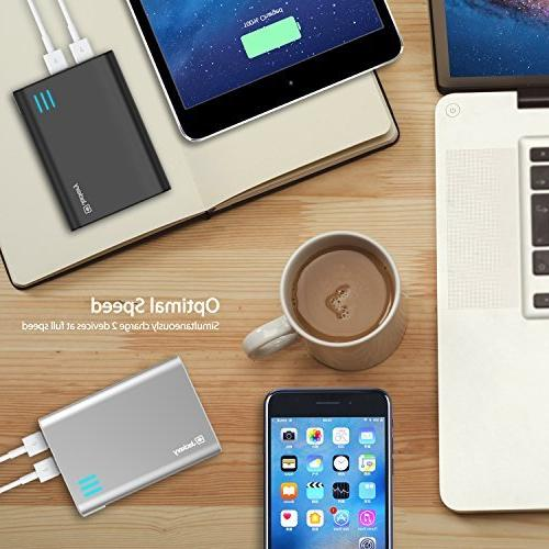 Jackery Giant Portable High External Battery Backup with Output iPhone 5C, 4, iPad Air, 2, iPad Samsung Galaxy S4, S3, S2, Note 2, HTC One, EVO, Incredible, Droid Motorola ATRIX, Moto Glass, Nexus 7, Optimus, HD+, and Premium
