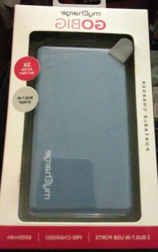 myCharge GO BIG Charger 6000mAh Pack with