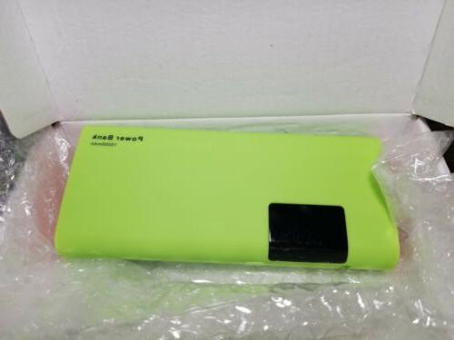 Gopro Hero High 15000mAh Power Charger Battery. GREEN NEW