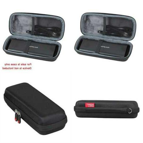 hard eva travel case fits portable chargers