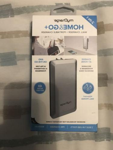 home and go portable charger 8 000mah