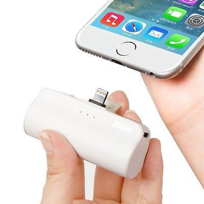 iWALK Portable Charger with Built in Plug, 3300mAh Ultra-Com