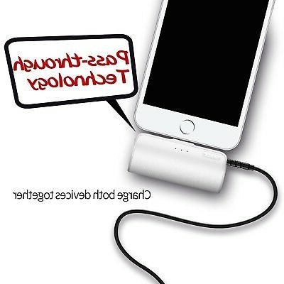 iWALK Portable Built in Plug, Ultra-Compact Power External Battery Pack Charger with iPhone 5 7 X