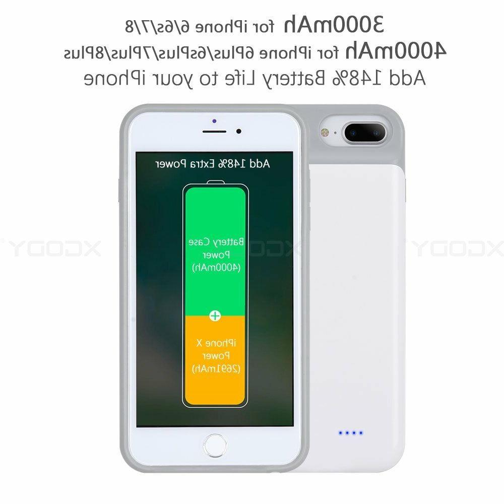 For 8 /7 Plus Battery Slim Portable Cover
