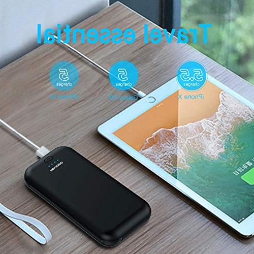 Heloideo 15000mAh Power with Plug, Charging Charger with Cable