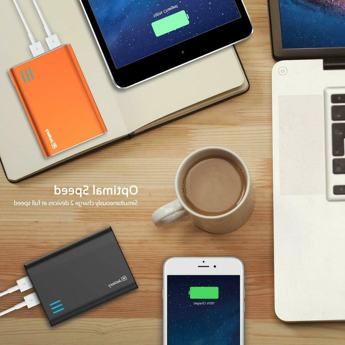 Jackery Portable Charger Giant+ 12000mAh Backup Power