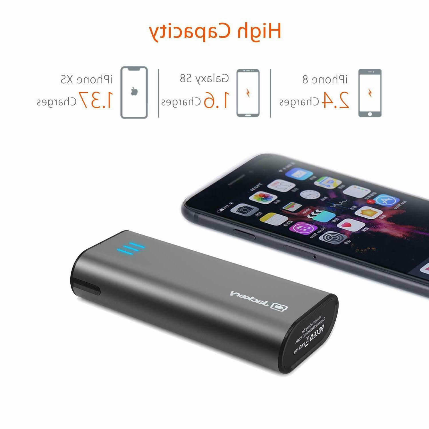 Jackery Portable Charger Bar 6000mAh Pocket-Sized Battery Pack
