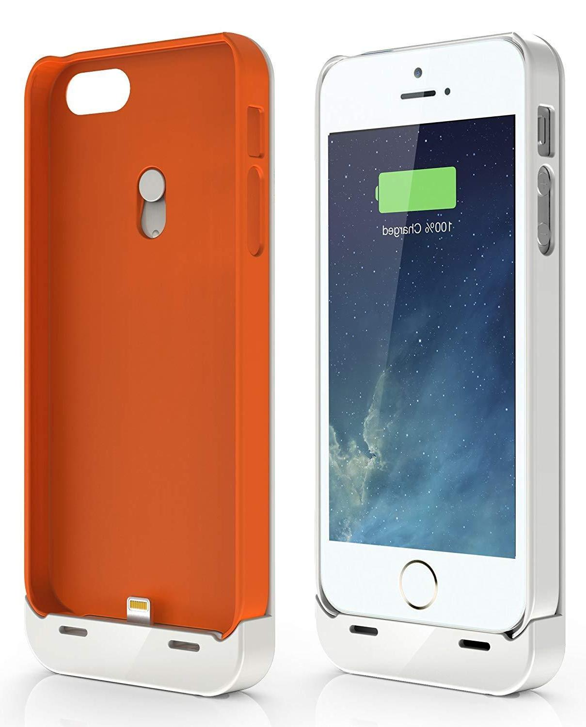 Jackery Leaf Premium iPhone SE Charger Case Power Bank for i