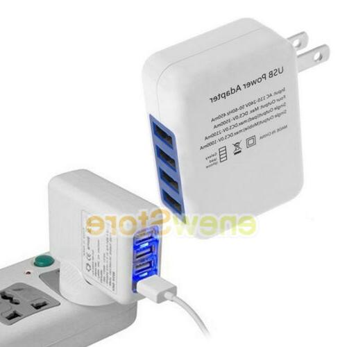 USB Portable Wall Charger Plug AC Power