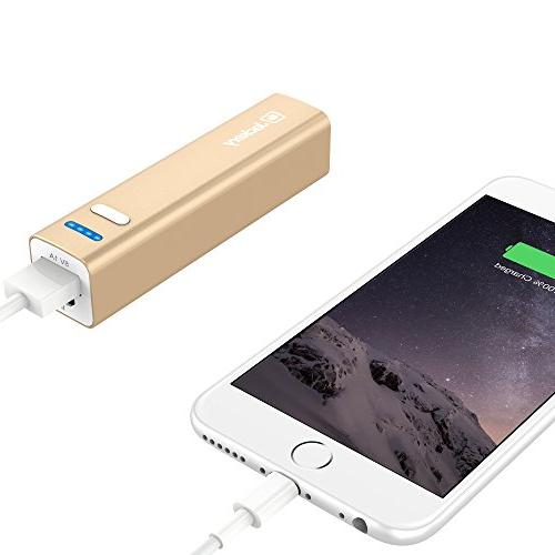 Jackery Mini Premium Portable Charger - External Battery Power Bank, & for Apple iPhone Plus, Pro, iPad Galaxy S6,