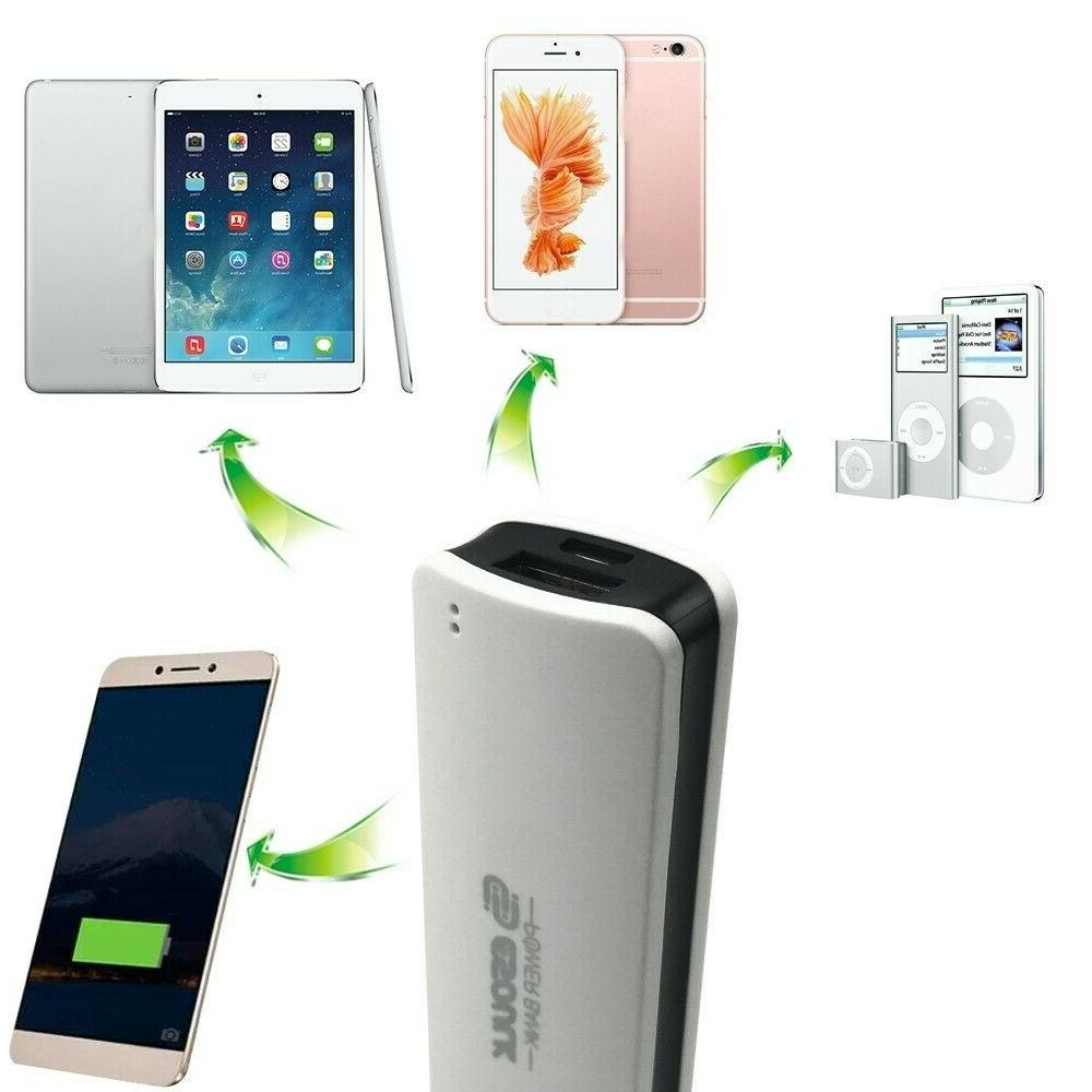Mini Power 2600mAh USB External Charger for Cell