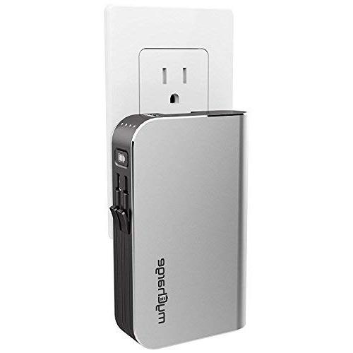 myCharge HubPlus-C Portable Charger 6700mAh Power USB-A Port Charge & Foldable Wall Plug