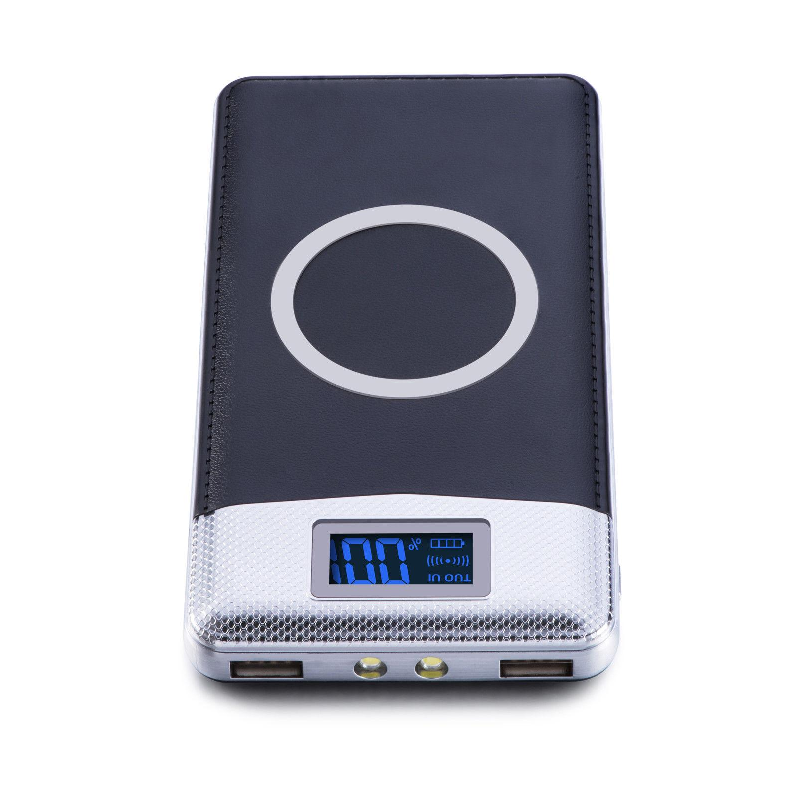 NEW Qi USB Portable Battery Charger