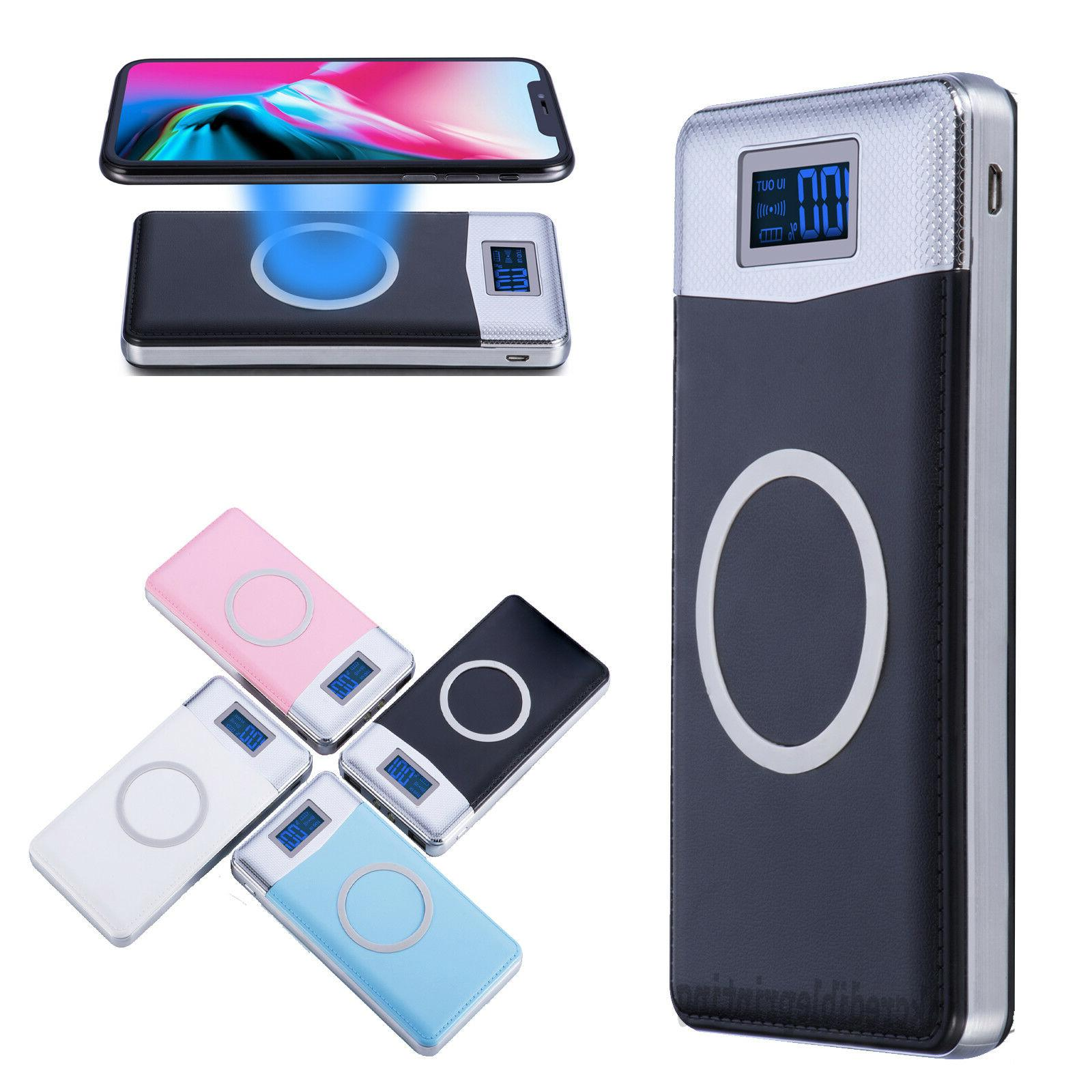 new 500000mah power bank qi wireless charging