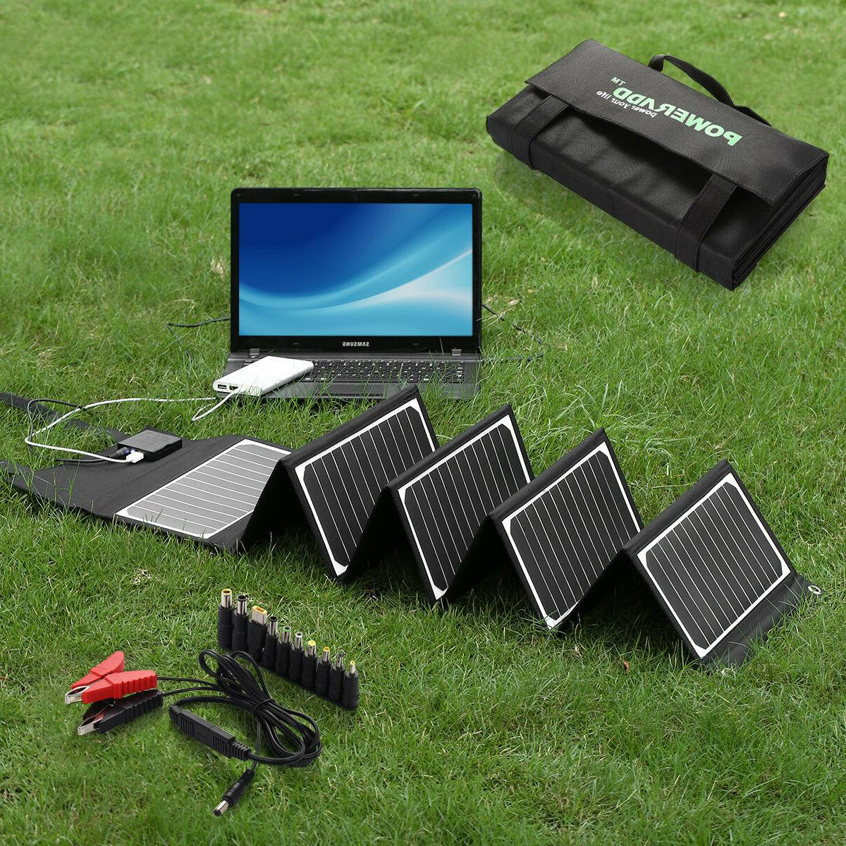 new 60w 5v waterproof solar charger portable