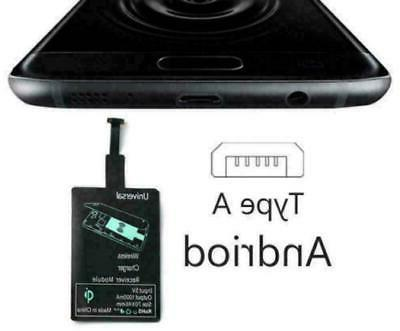 New Portable Qi Charger Type C Receiver