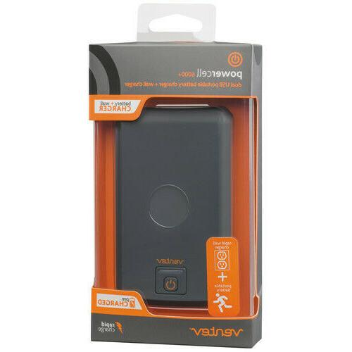 new powercell 6000 dual usb portable battery