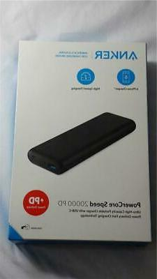 NEW Anker PowerCore Speed 20000 Power Delivery Portable Char