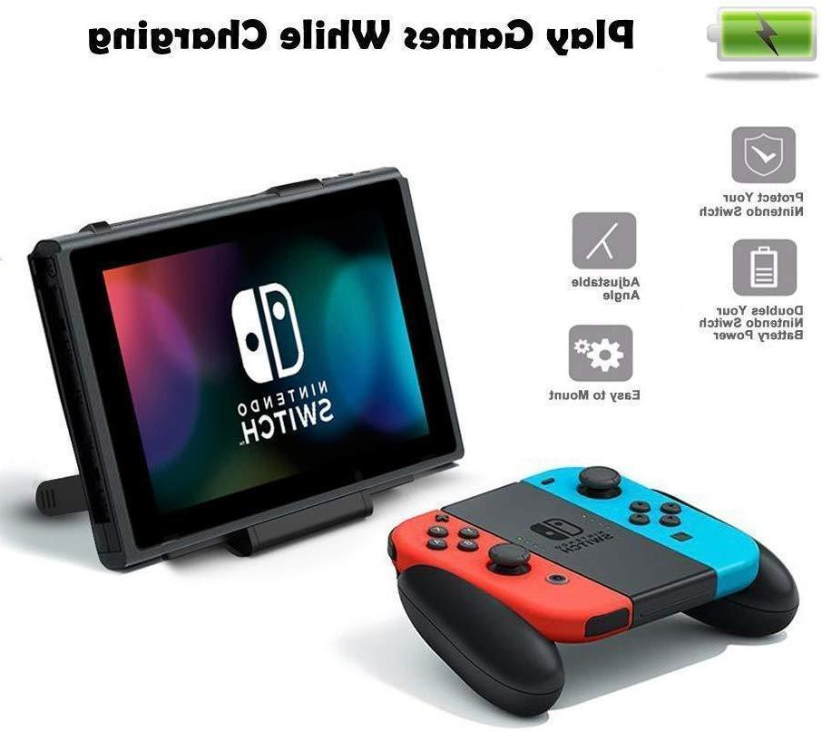 For Switch Battery Case Portable Pack Travel Power