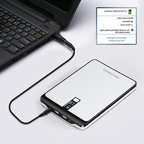 POWERADD Pro2 Power 4.5A Output Battery LCD Display for MacBook,