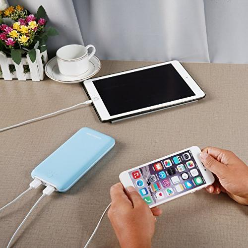 Poweradd Pliot Plus 20000mAh Comfortable Touch Pack Tech iPhone, Samsung Galaxy Note More -